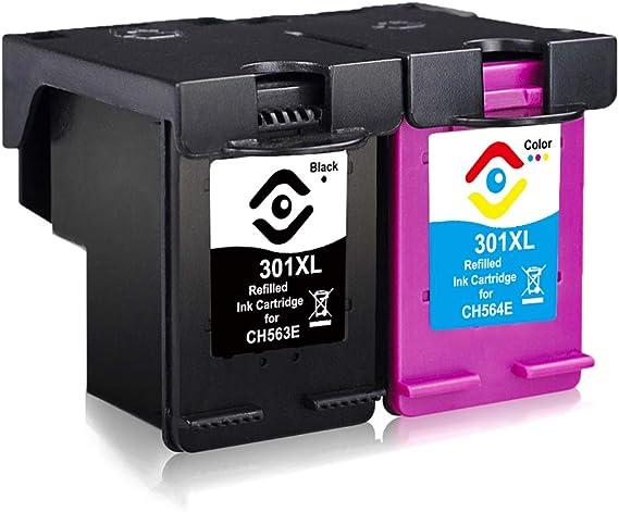 Facink Cartuchos de tinta 301 XL 301XL remanufacturados de alto ...