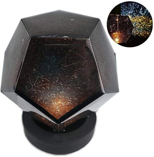 Pawaca Lámpara de proyección de Cielo Estrellado Recargable por ...