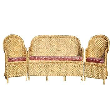 Phenomenal All India Handicrafts Cane Sofa Set With Table Amazon In Spiritservingveterans Wood Chair Design Ideas Spiritservingveteransorg