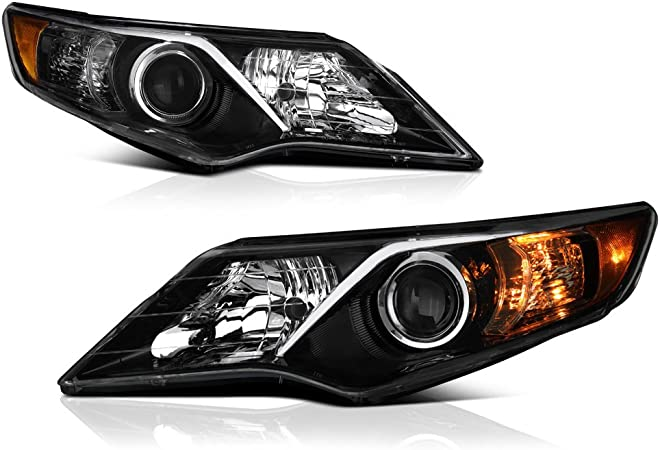For 2012-2014 Toyota Camry Headlight Assembly Set 49624WZ 2013