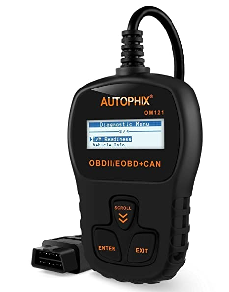 Amazon obd2 scanner autophix auto code reader om121 universal obd2 scanner autophix auto code reader om121 universal obdii vehicle check engine fault code reader fandeluxe Gallery