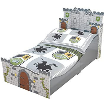 the latest c16ae 97d88 KidKraft Boy's Medieval Castle Toddler Bed: Amazon.ca: Toys ...