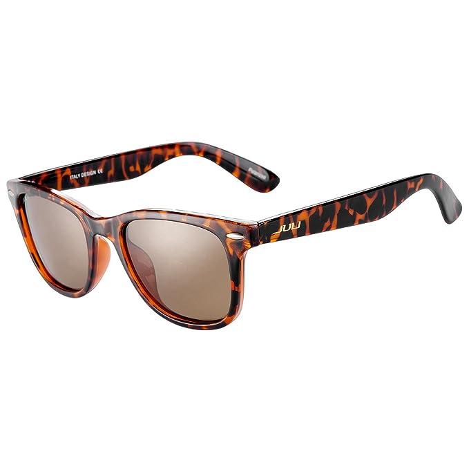 JULI Gafas de sol Polarizadas Hombre Mujer Original Wayfarer Vintage Estilo  2140  Amazon.es  Ropa y accesorios 4d35b3fd12c3