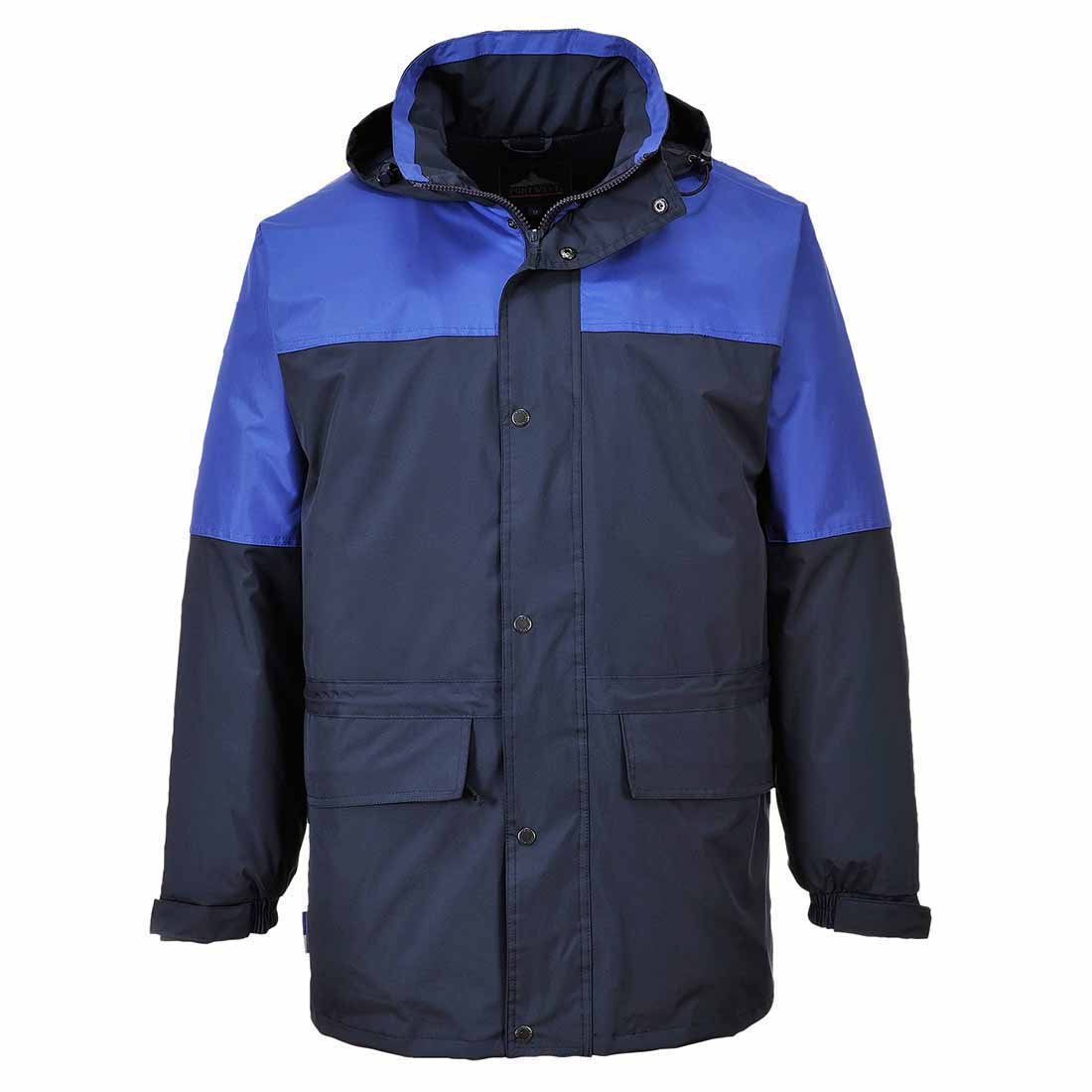 Blu Navy Portwest S523NARXS Giacca Oban Impermeabile Foderata in Pile XS