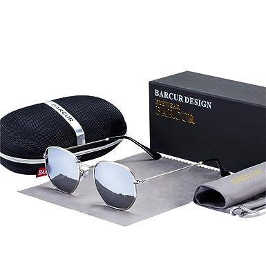 Amazon.com: Gafas de sol clásicas retro reflectantes para ...