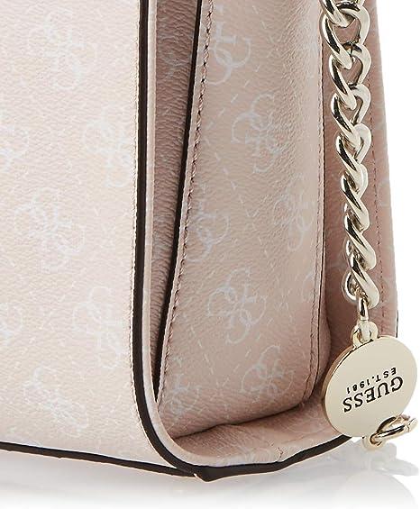 Guess Lorenna Crossbody Top Zip Blush: Amazon.it: Scarpe e borse