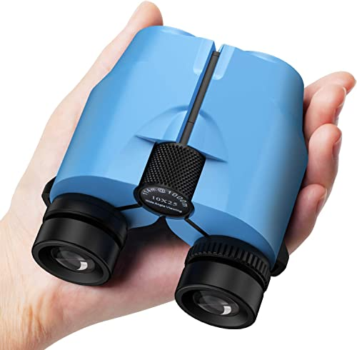 Binoculars for Kids and Adults High Resolution 10×25,Compact Lightweight Binocular with BAK4 Prism FMC Lens for Bird Watching,Hunting,Hiking,Detective Spy,Nature Exploration,Outdoor Games Camping