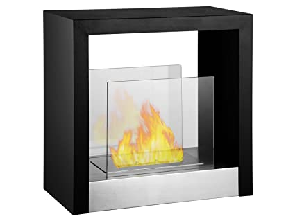 Awesome Ignis Tectum S Freestanding Ventless Ethanol Fireplace Interior Design Ideas Philsoteloinfo