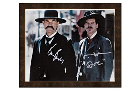 Amazoncom Framed Print Wyatt Earp Doc Holliday Tombstone Posters