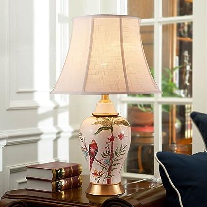 Shuang Lámparas de Mesa de cerámica - Lámparas de cabecera ...