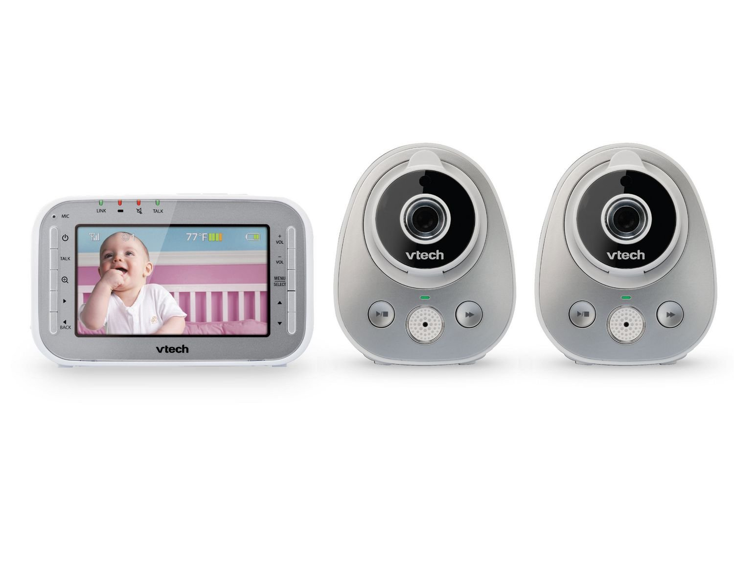 Vtech VM342-2 Wide Angle and Standard Lens Camera Video Monitor