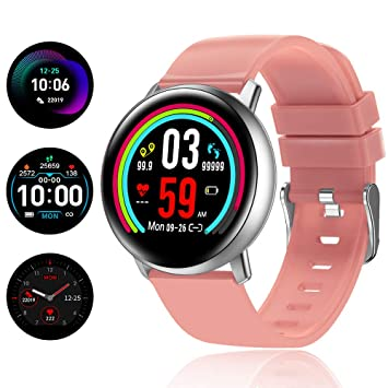 TagoBee TB15 Reloj móvil Ip67 Waterproof Smart Watch 1.22 IPS Color Screen Activity Watch Fitness Trackers con monitor de presión arterial, monitor ...