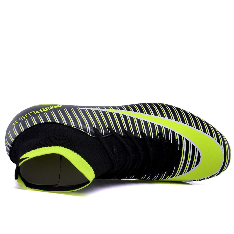 LSGEGO LSGEGO LSGEGO Hombre Football Botas Adult High Top Soccer Zapatos Professional 987bbf