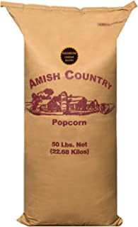 product image for Amish Country Popcorn | 50 lb Bag | Rainbow Popcorn Kernels | Old Fashioned with Recipe Guide (Rainbow - 50 lb Bag)