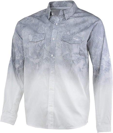 HUK H1500060 - Camisa de Pesca de Manga Larga para Hombre, XL, fantasía (Sub Zero): Amazon.es: Deportes y aire libre