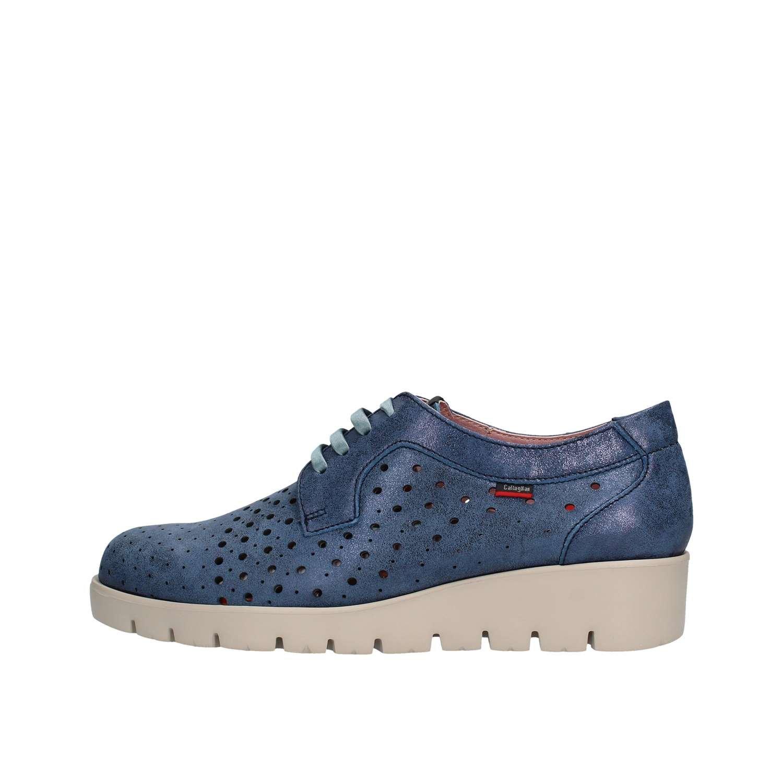 Callaghan Haman, Zapatos de Cordones Derby para Mujer 36 EU|Azul