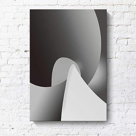 RTCKF línea de Pintura Decorativa Curva Abstracta apartamento ...