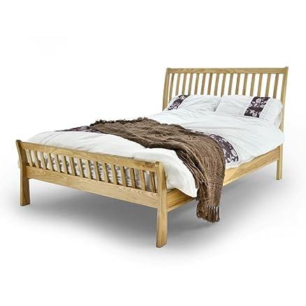 Ashton struttura letto - Letto matrimoniale in legno di quercia ...