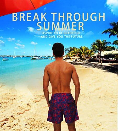 RADCRAVEN Mens Swim Trunks Broomstick Beach Shorts Quick Dry Mesh Lining Board Shorts Swimwear with Pockets