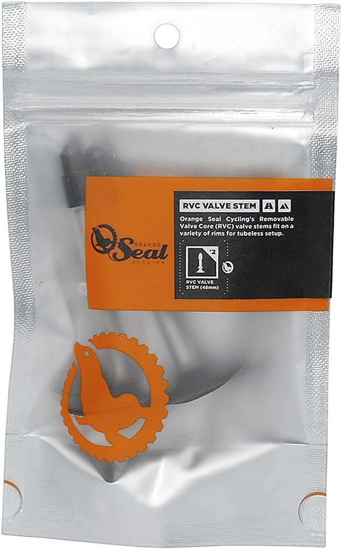 OrangeSealCycling RCV Presta Valve Stems