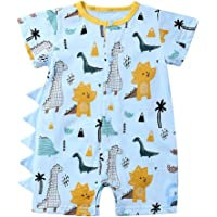 Divertido Pijama,K-Youth Mameluco Bebe Niño Recien Nacido Ropa Bebe Niña Body Bebe Manga Corta Pelele Bebe Niño Verano…
