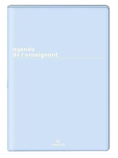 Oberthur 2019/2020 - Agenda para profesor, color azul ...