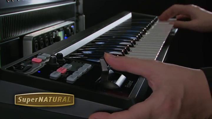 Roland A-49 Lightweight 49-Key MIDI Keyboard Controller, Black