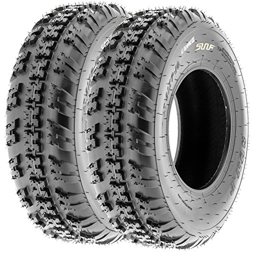SunF Knobby Sport ATV Tires 21x7-10 & 20x11-9 4/6 PR A031 (Complete set of 4) by SunF (Image #2)