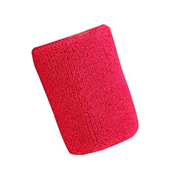 YHLVE - Muñequera de Baloncesto, algodón Transpirable, elástica ...