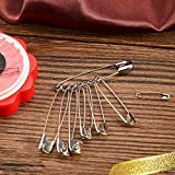 Officepal Premium Quality 6-Size Safety Pins- Top