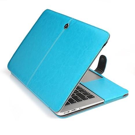 Funda de piel sintética para MacBook Air de 11 pulgadas Topideal, bolsa de transporte suave
