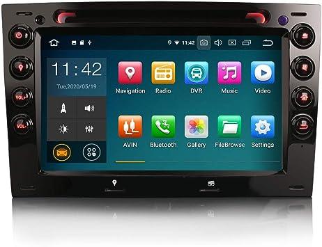 ERISIN 7 Pulgadas Android 10.0 Autoradio Multimedia Player ...