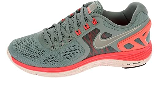 NIKE 629683-006 Lunar Eclipse 4 Ladies Running Shoe Grey Pink Size 5.5