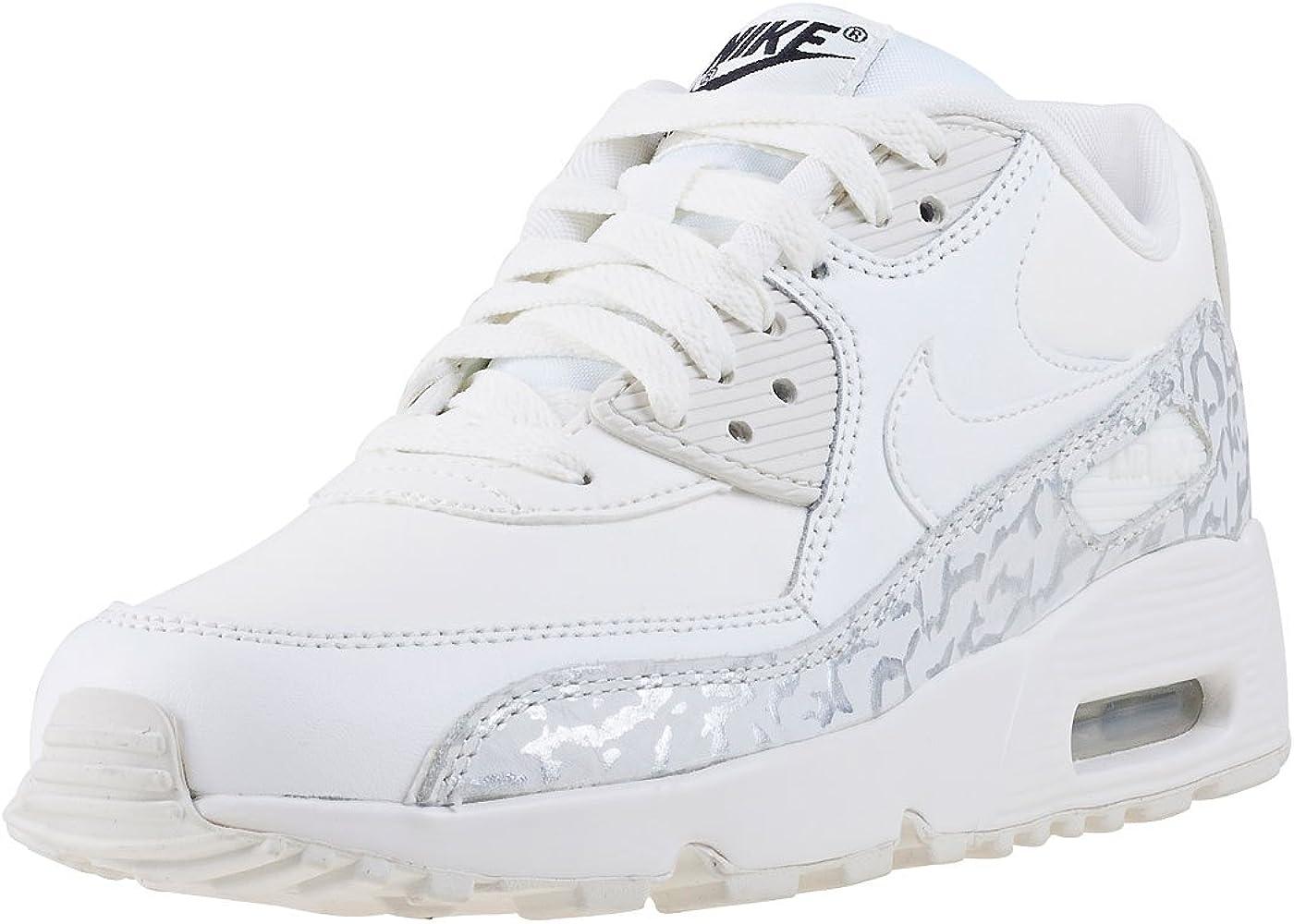 nike air max 90 leather junior white
