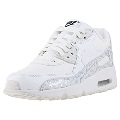 NIKE Air Max 90 LTR SE GG Junior Running Trainers 897987 Sneakers Shoes (UK 4