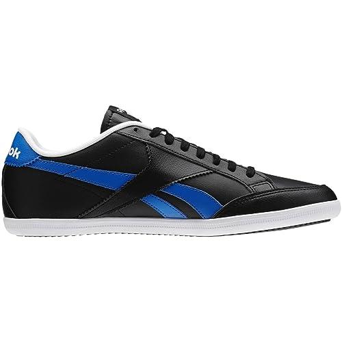 Reebok Royal Transport S, Zapatillas de Deporte para Hombre, Negro/Azul/Blanco (Black/Blue Sport/White), 41 EU