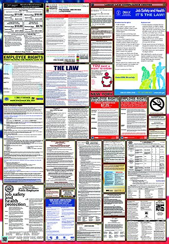 New York / Federal Combination Labor Law Posters - Stores New Nyc