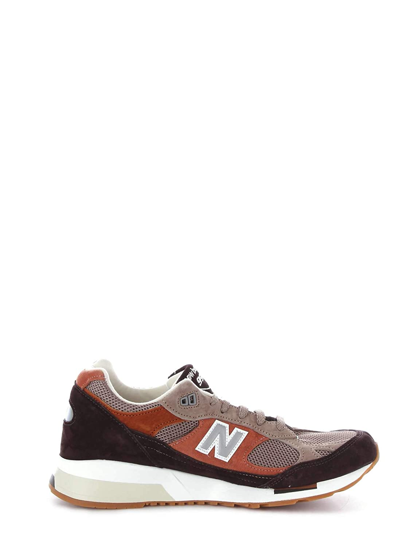 Multi coloured New Balance M991.5 FT Dark Brown Light Brown