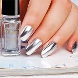 Mirror Nail Polish, Silver Paste