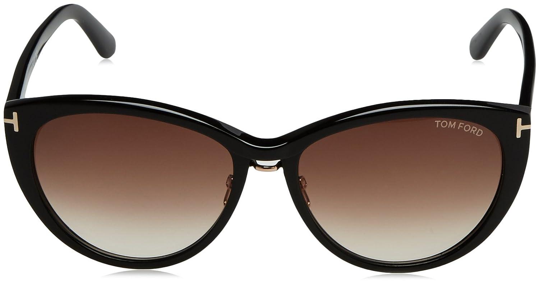 Tom Ford Sonnenbrille FT0345_PANT 140_01B (57 mm) Black, 57