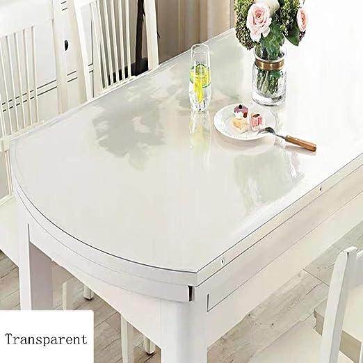 Yougernok Mantel Mantel Ovalado Transparente De PVC Forma ...