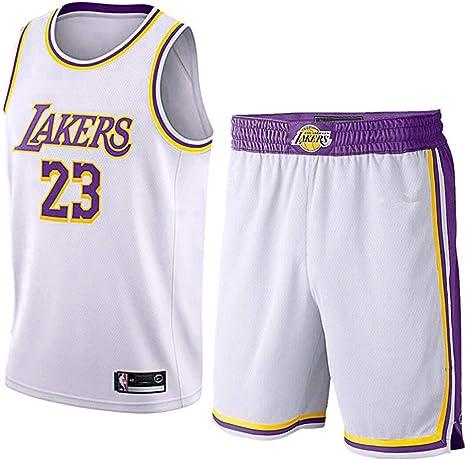 NBA – Camiseta para niños – NBA Bulls Jordan No. 23, Lakers James ...