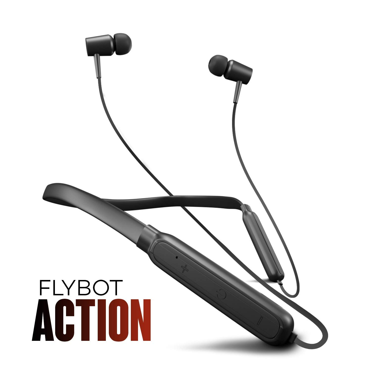Flybot Action Bluetooth Neckband, Lightweight Wireless And
