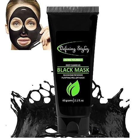 Definiendo estilo, removedor de puntos negros, máscara negra, limpiador de poros, máscara