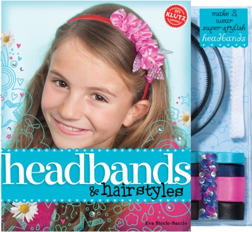 Headbands & Hairstyles Book Kit- (How To Make Plastic)