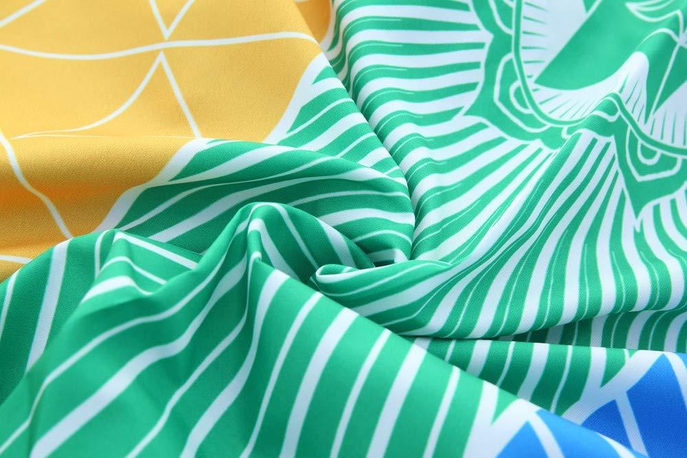 100 * 45 MEIbax Hot Rainbow Beach Mat Wand Dekoration Mandala Decke Wandbehang Tapisserie Streifen Tischdecke Strandtuch Sch/öne Wanddeko