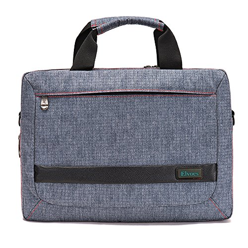 Elvoes Laptop Briefcase 13-14 Inch Laptop Bag