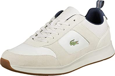 2fb76a689b5e00 Lacoste Joggeur 418 1 Chaussures Off White/Dark: Amazon.fr ...