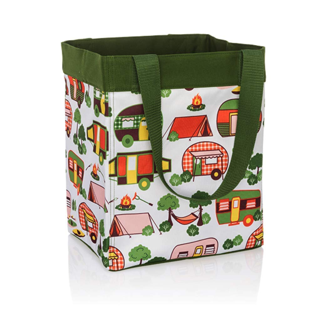 Thirty One Essential Storage Tote - 4446 - No Monogram - Gone Campin' by Thirty-One