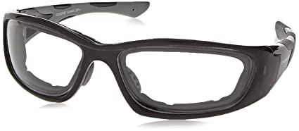 7254b34403 Image Unavailable. Image not available for. Color  Crossfire Safety Glasses  MP7 Clear Anti-Fog Lens Crystal Black ...